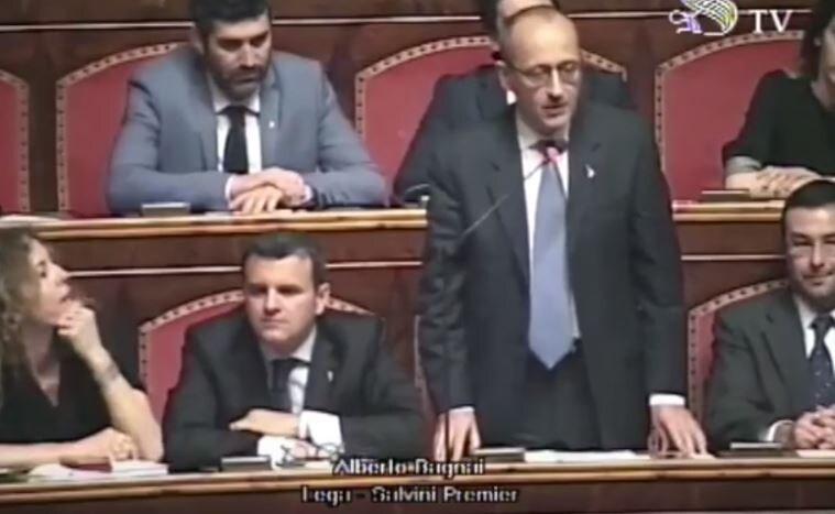 Alberto Bagnai e l'atteggiamento