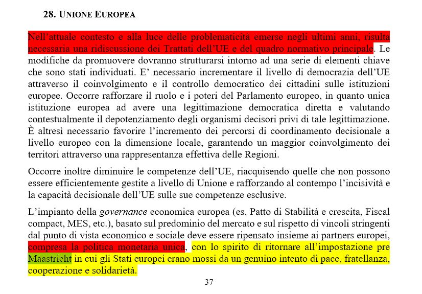 contratto lega-m5s 5