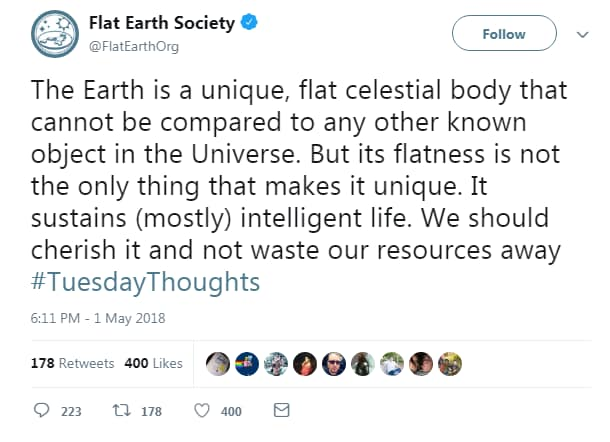 flat earth society terra piatta birmingham convention - 3