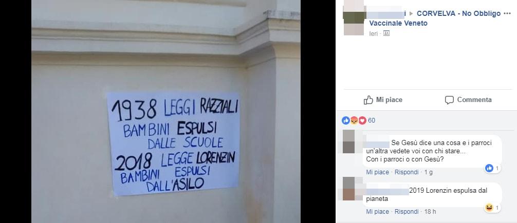 free-vax protesta chiese esclusione materne - 3