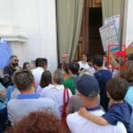 free-vax protesta chiese esclusione materne - 5