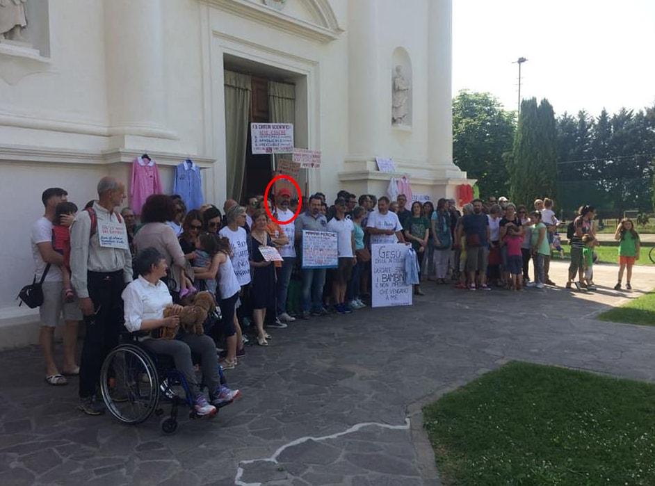 free-vax protesta chiese esclusione materne - 6