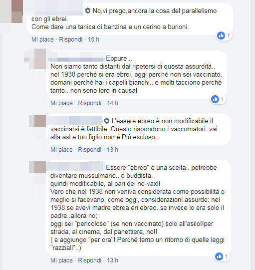 free-vax protesta chiese esclusione materne - 8