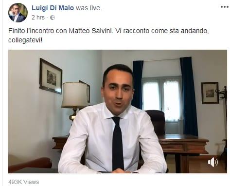 m5s accordo lega reazioni di maio salvini - 1