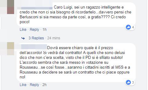 m5s accordo lega reazioni di maio salvini - 2