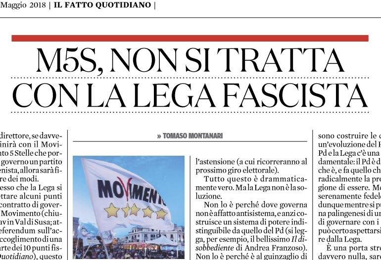 m5s lega fascista