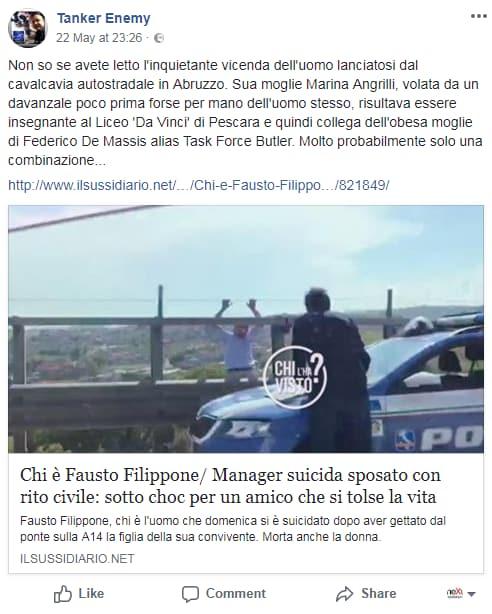 marcianò filippone omicidio suicidio complotto - 1