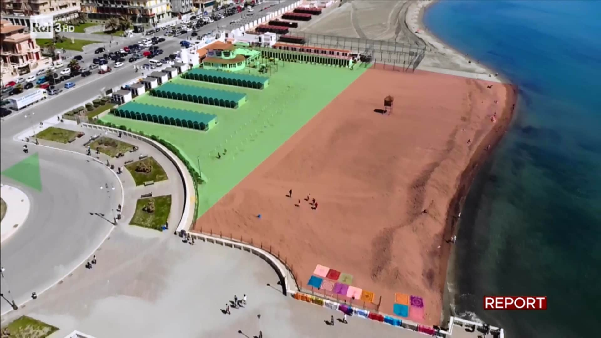 report ostia balneari libera spiaggia m5s paolo ferrara - 2