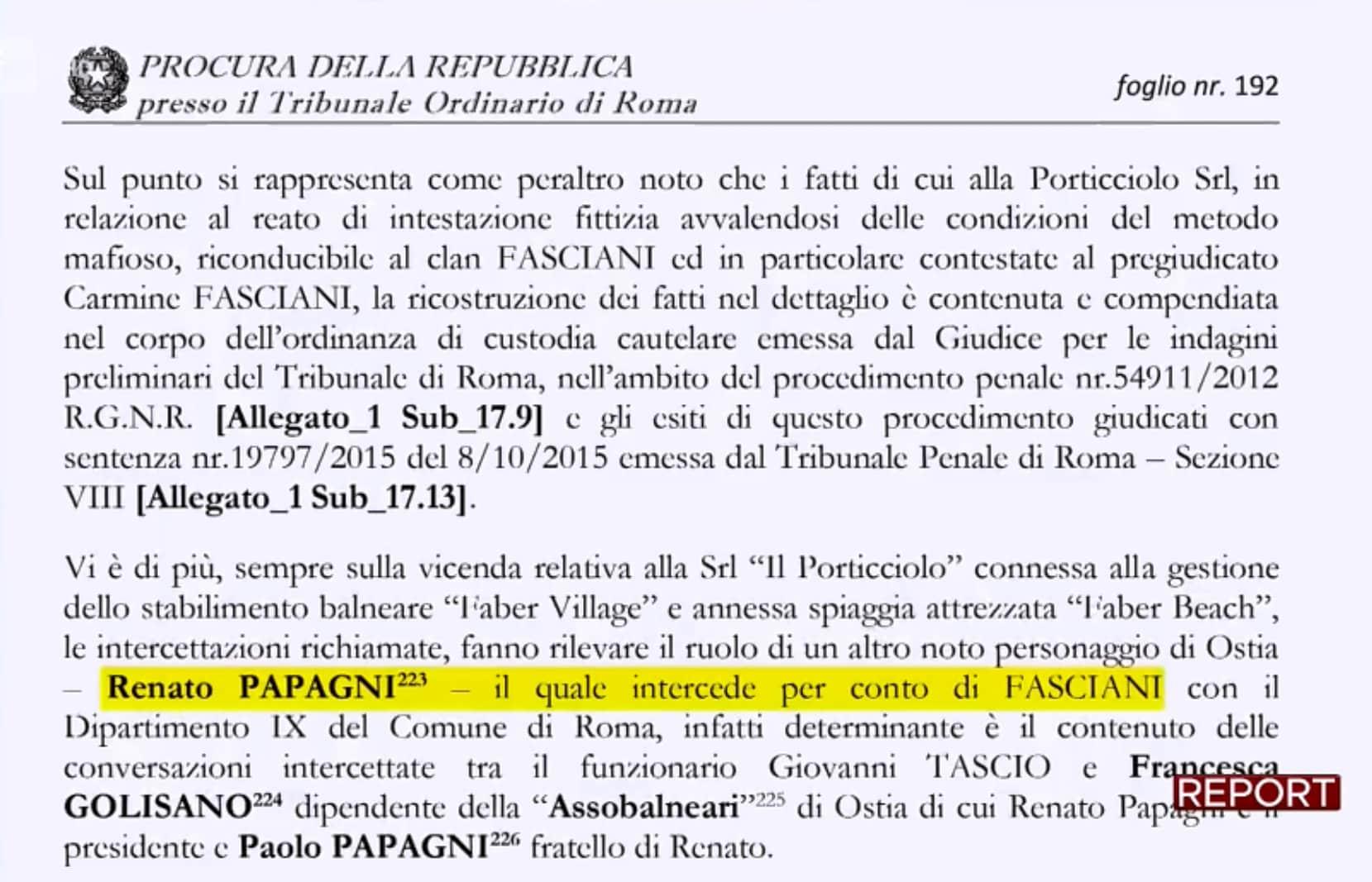 report ostia balneari libera spiaggia m5s papagni fasciani - 2