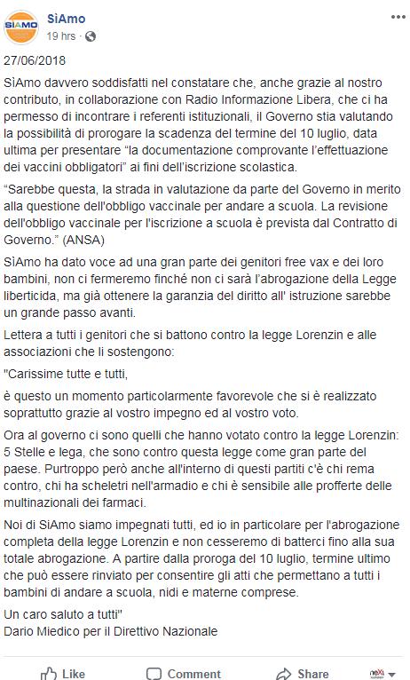 bartolazzi radio informazione libera miedico trinca free vax - 4