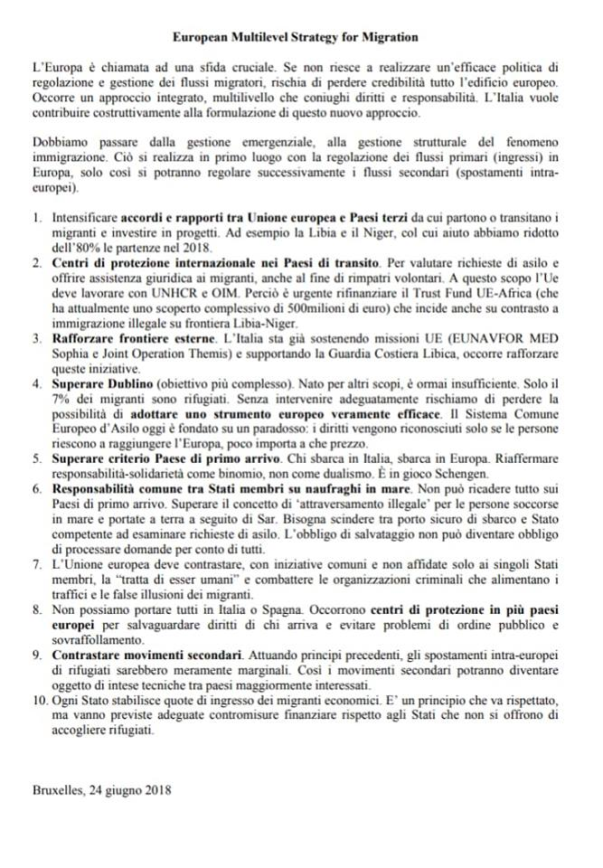 conte european multivelel strategy migration bruxelles - 1