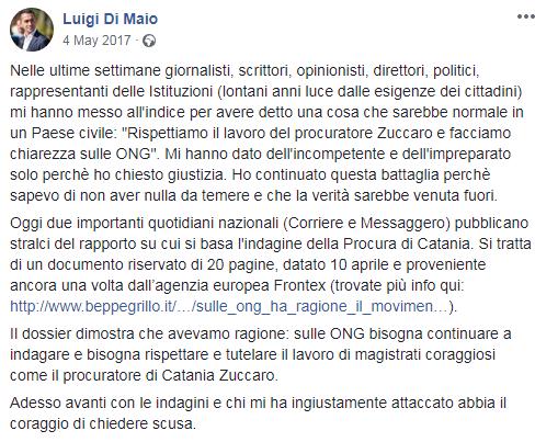 di maio m5s ong inchiesta taxi del mare archiviata - 3