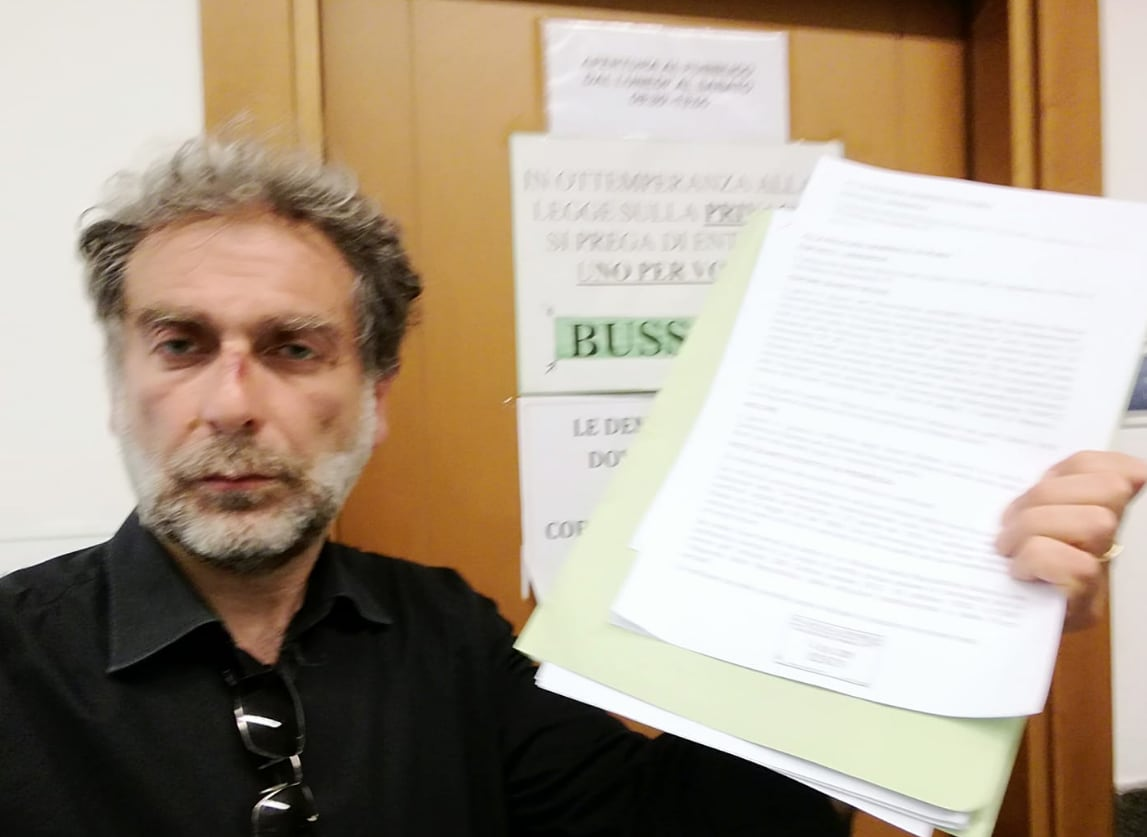 gianfranco mascia verdi esposto salvini portichiusi - 1