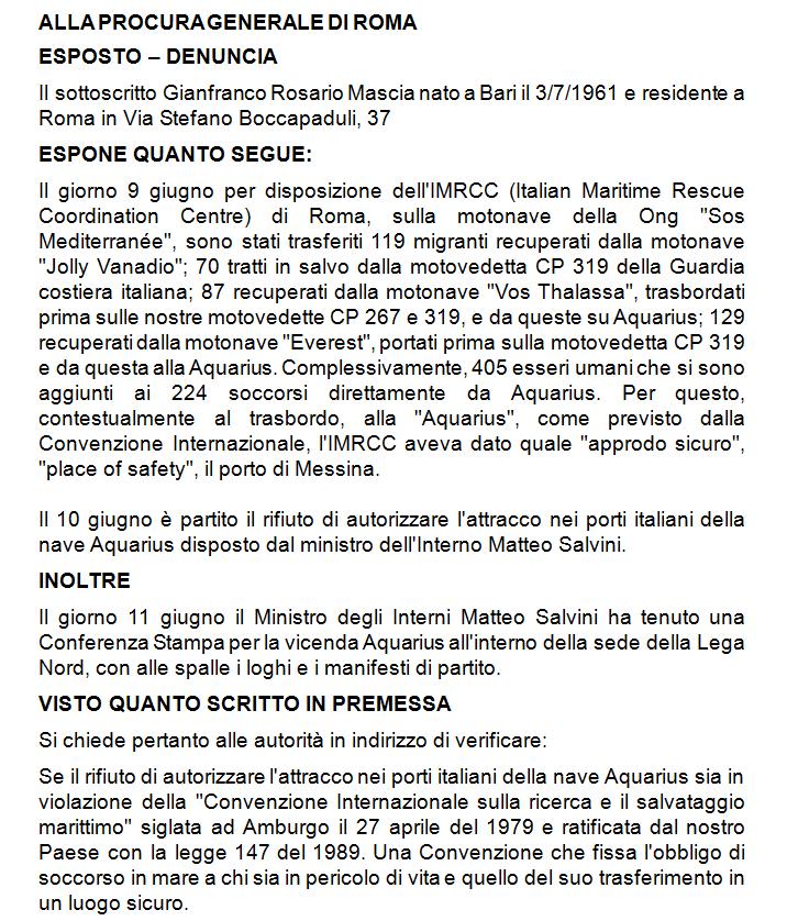 gianfranco mascia verdi esposto salvini portichiusi - 2