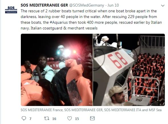 malta italia migranti porti aquarius ong - 2