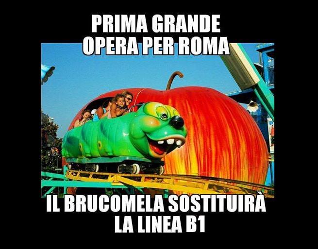 meleo metro b bufalotta people mover brucomela - 12