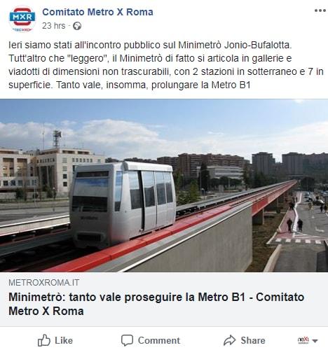 meleo metro b bufalotta people mover brucomela - 8