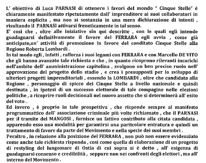 roberta lombardi inchiesta parnasi ferrara stadio roma -1