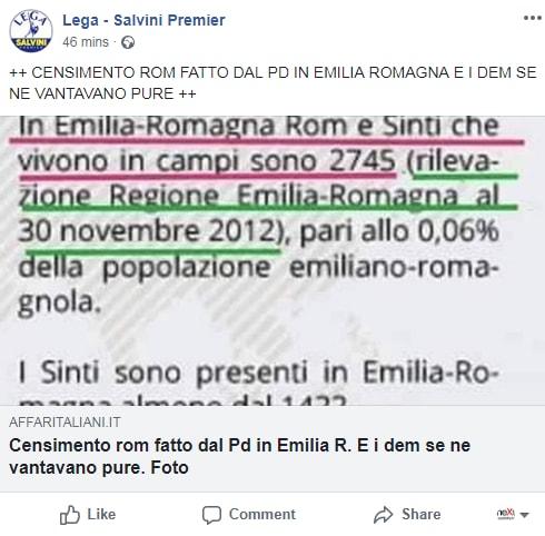 salvini lega censimento campi rom maroni - 3