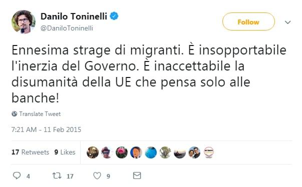 toninelli m5s salvini lega migranti aquarius sos mediteranee - 1