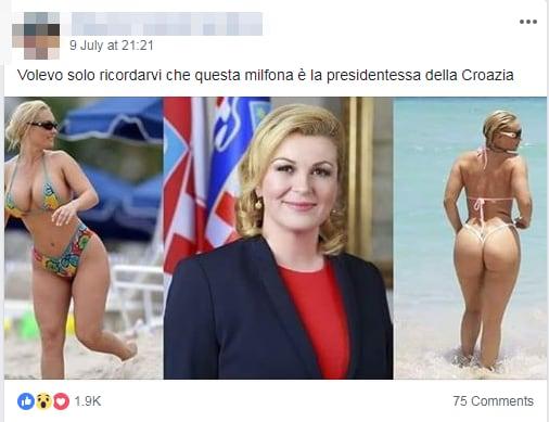 Kolinda Grabar-Kitarović presidente croazia milf bufala - 1