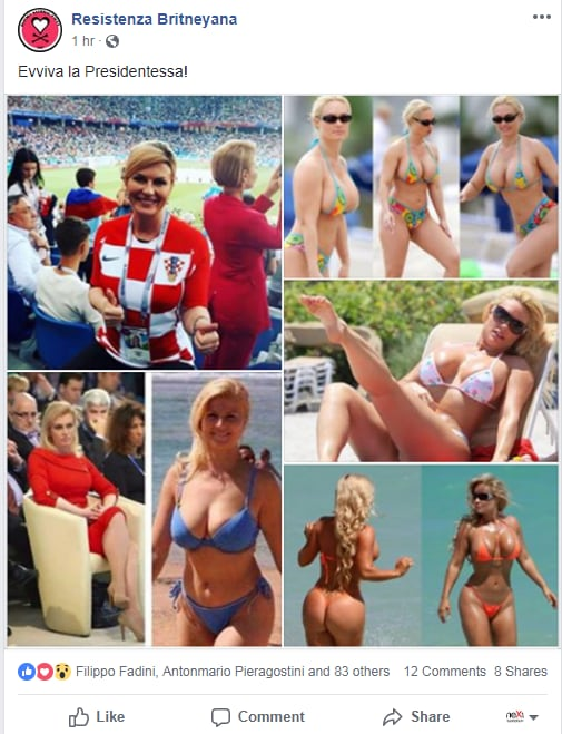 Kolinda Grabar-Kitarović presidente croazia milf bufala - 2