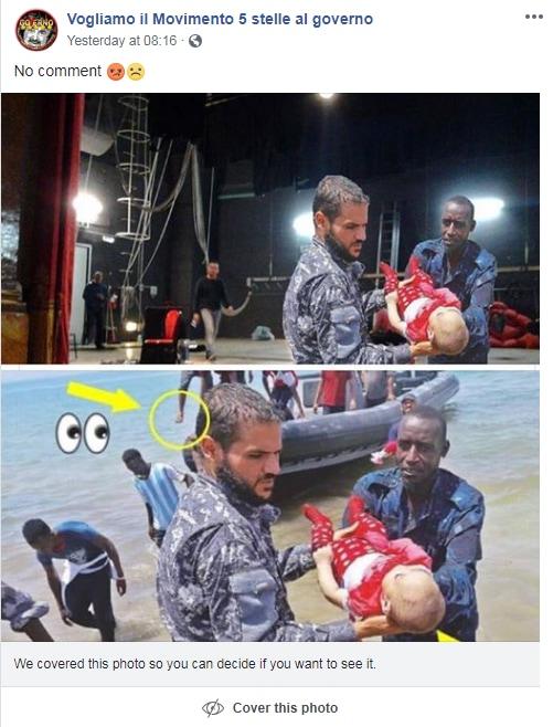 bambini morti libia foto fake bambolotti reborn - 10
