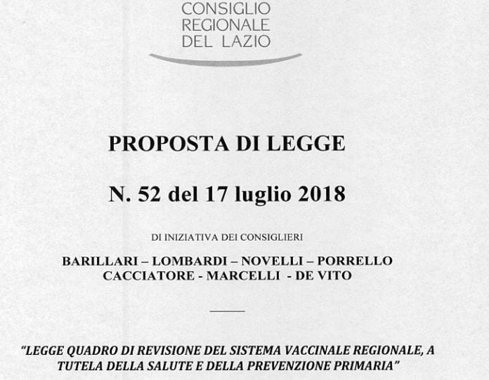 barillari m5s vaccini lazio esami prevaccinali - 1