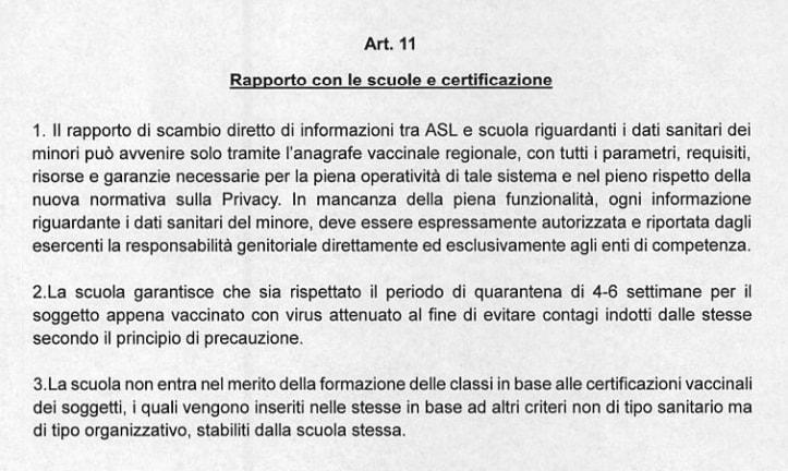 barillari m5s vaccini lazio esami prevaccinali - 7
