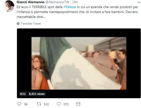 chicco pubblicità nascite italia alemanno - 1