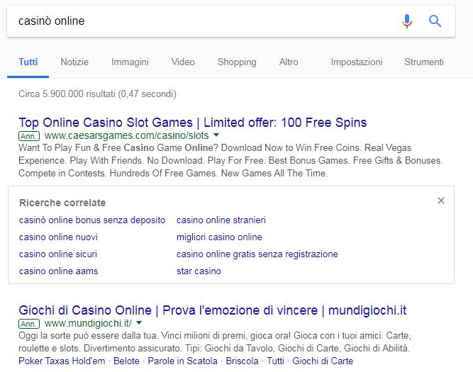 di maio google decreto dingità gioco azzardo -3