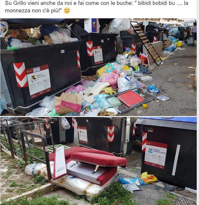 emergenza rifiuti roma 1