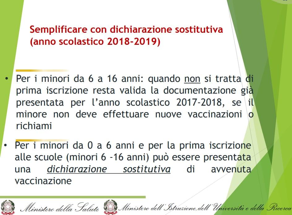 giulia grillo m5s circolare vaccini autocertificazione settembre - 2