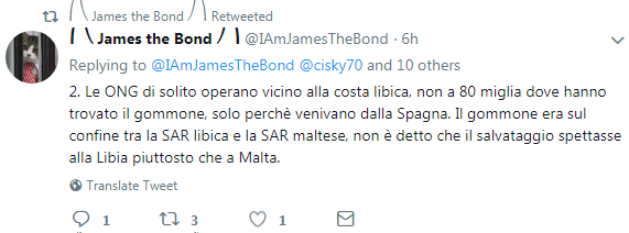 james the bond open arms salvini libia - 6