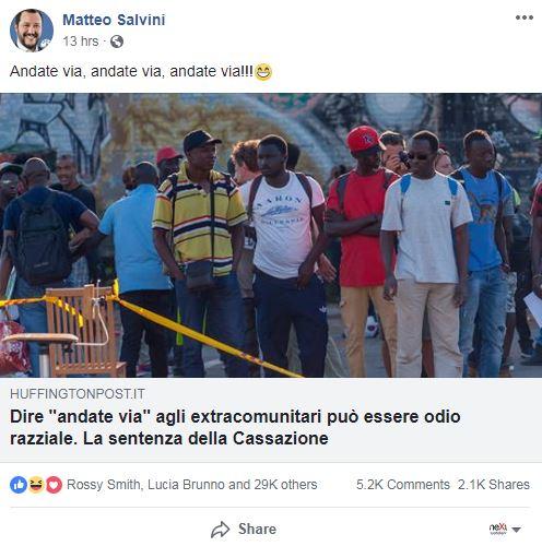 matteo salvini diciotti migranti - 3