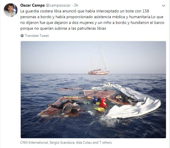 naufragio mediterraneo open arms migranti libia salvini - 9