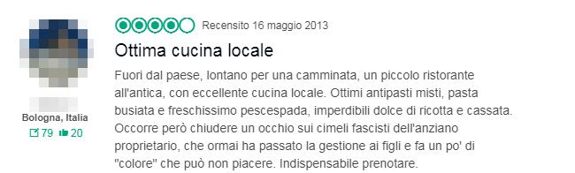 ristorante alfredo san vito lo capo fascista grillino - 4