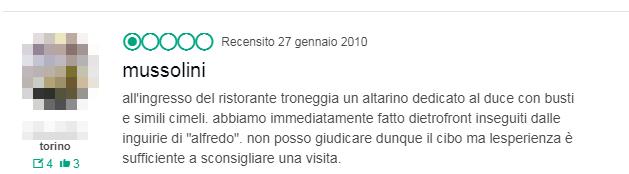 ristorante alfredo san vito lo capo fascista grillino - 5