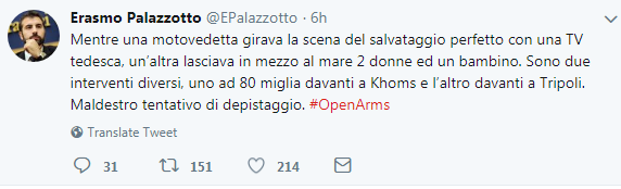 salvini open arms palazzotto guardia costiera libica morti - 1