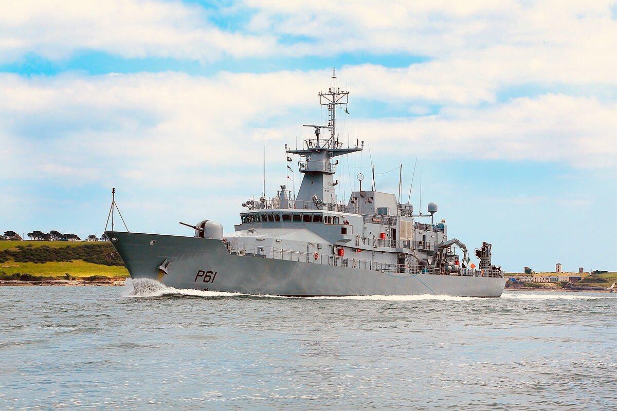 samuel beckett nave marina militare
