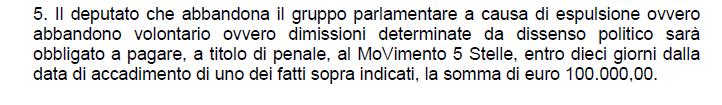 sarti lannutti d'ippolito m5s regole statuto espulsione - 3