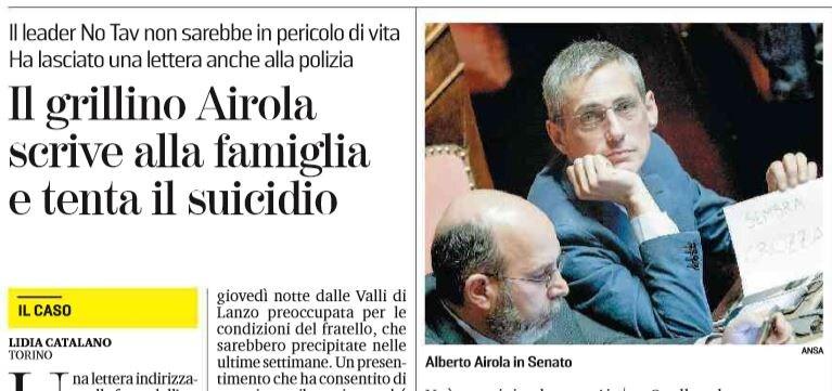 ALBERTO AIROLA SUICIDIO