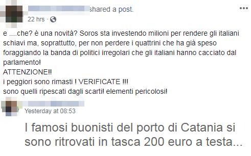 angelo fazio fake news diciotti manifestanti pagati - 5b