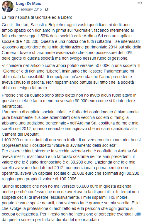 ardima rosalba di maio luigi di maio società - 2