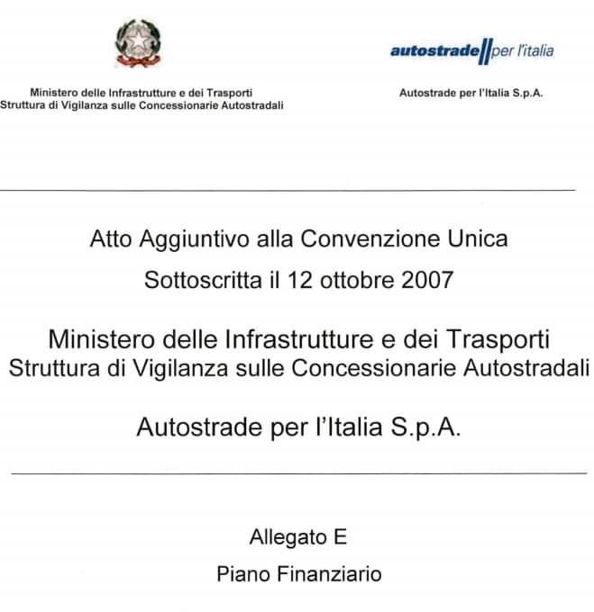 autostrade per l'italia convenzione genova ponte morandi - 3