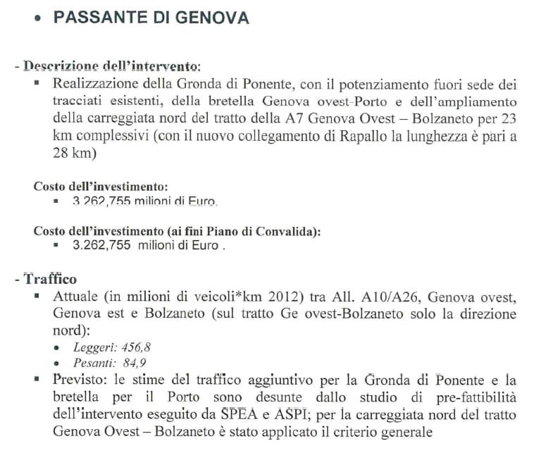autostrade per l'italia convenzione genova ponte morandi - 6