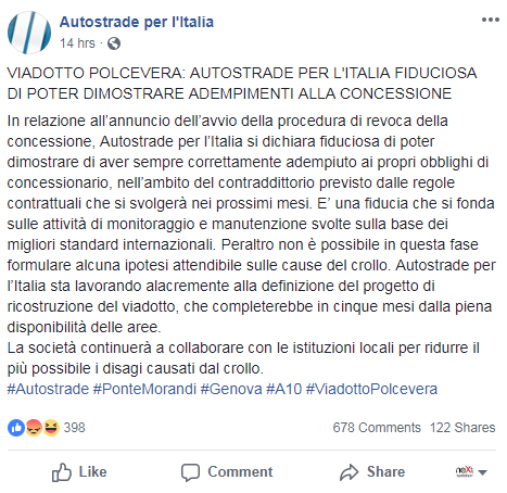 autostrade per l'italia morandi polcevera controlli a10 - 2