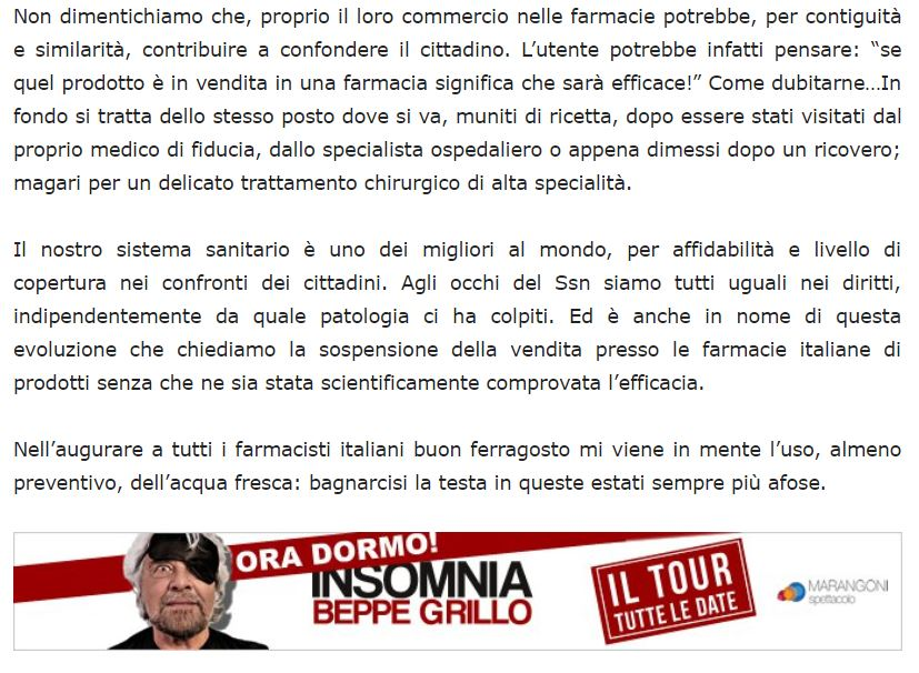 beppe grillo omeopatia 1