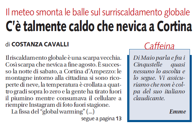 bufale agosto global warming libero - 1
