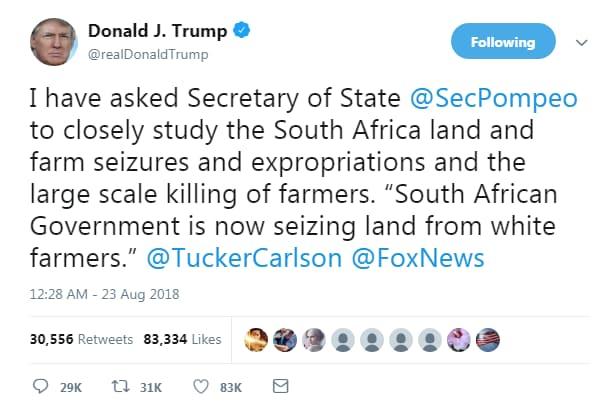 donald trump kkk apartheid sud africa - 1